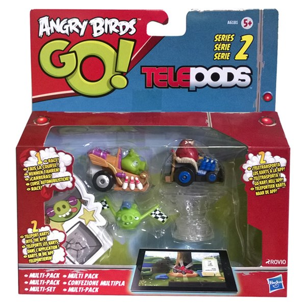Angry Birds Go. Telepods Multipack A6181