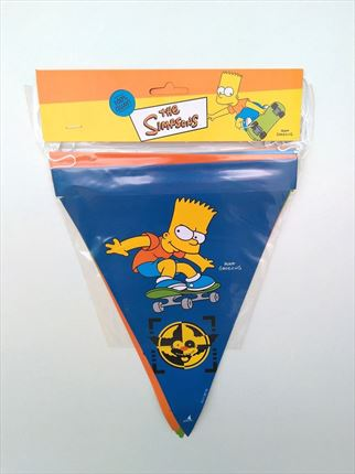 BANDERINES BART DE LOS SIMPSONS