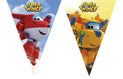 BANDERINES PLASTICO SUPER WINGS