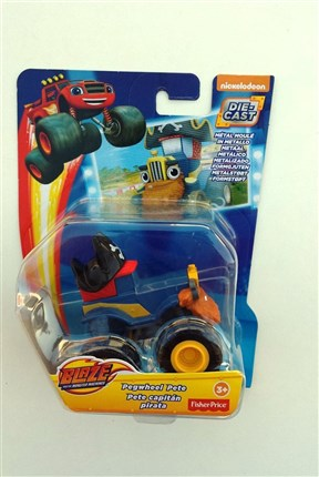 COCHE PIRATA BLAZE AND THE MONSTER MACHINES