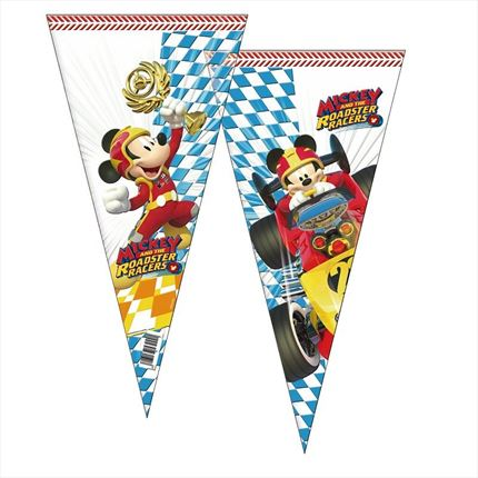 BOLSA DE CONO MICKEY AND THE ROADSTER RACERS