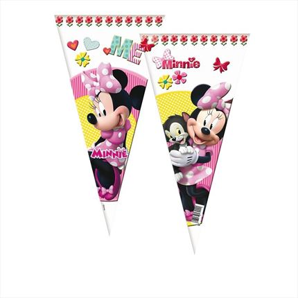 BOLSAS DE CONO MINNIE MOUSE