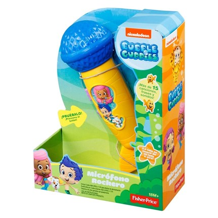 BUBBLE GUPPIES MICROFONO ROCKERO