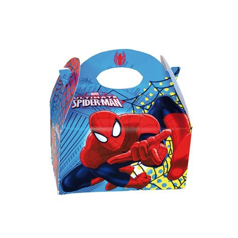 CAJA CARTON VACIA SPIDERMAN
