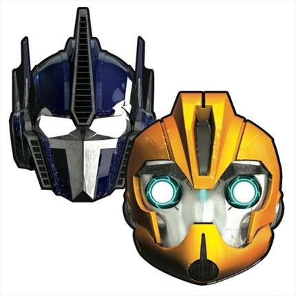 MASCARAS/CARETAS TRANSFORMERS
