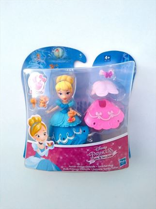BLISTER CENICIENTA VESTIDOS FASHION DISNEY PRINCESS HASBRO