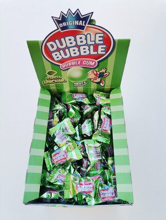 CHICLES DUBBLE BUUBLE MENTA