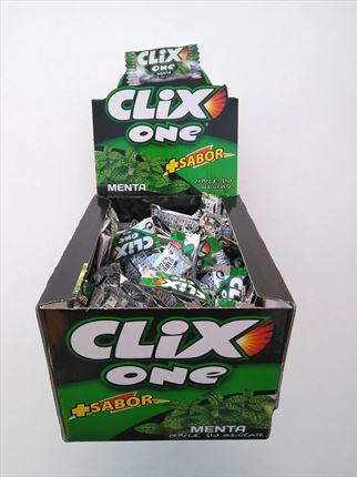 CHICLES CLIX ONE MENTA