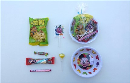 CUENCOS CON CHUCHES MICKEY MOUSE