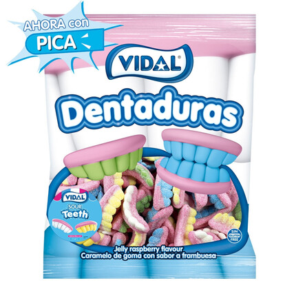 DENTADURAS FOAM PICA DE COLORES
