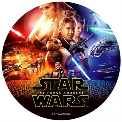 DISCOS OBLEA STAR WARS