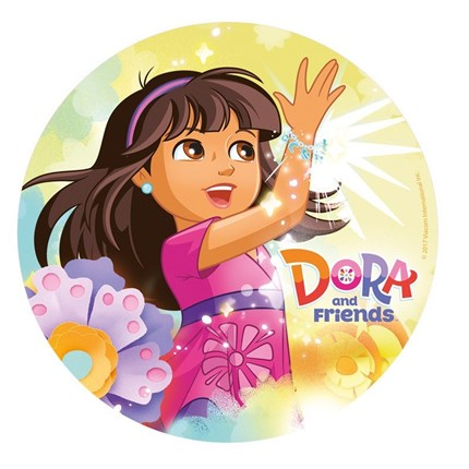 DISCOS DE OBLEA DORA AND FRIENDS