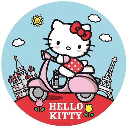 DISCOS DE OBLEA HELLO KITTY