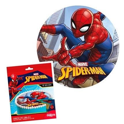 DISCOS DE OBLEA SPIDERMAN