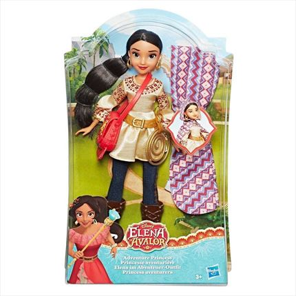 MUÑECA ELENA DE AVALOR ADVENTURE PRINCESS DE HASBRO