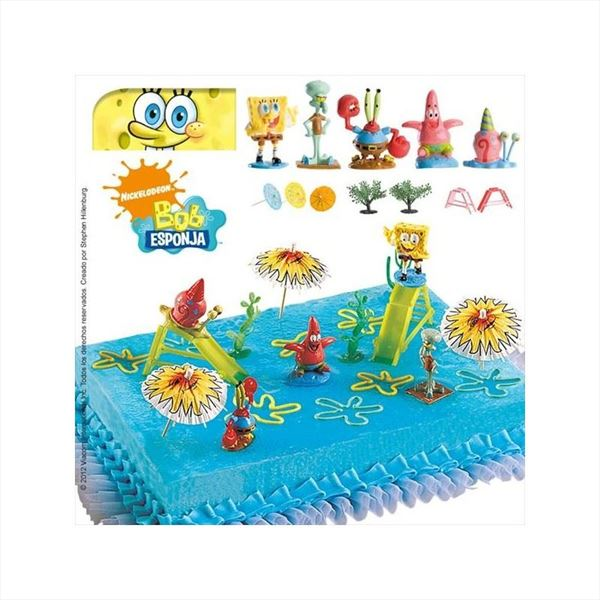 KIT DECORACION BOB ESPONJA