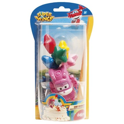 KIT DECORACION DIZZY - SUPER WINGS DE DEKORA