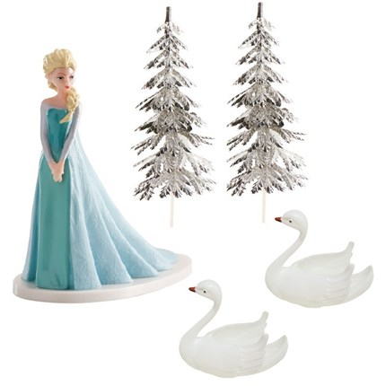 KIT DECORACION FROZEN ELSA DE DEKORA
