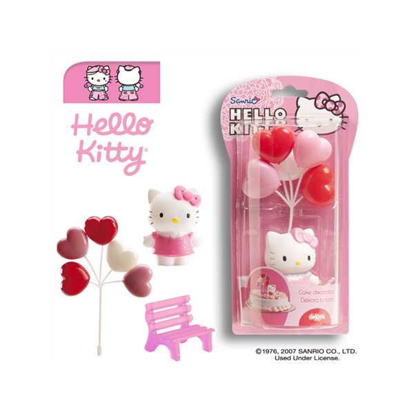 KIT DECORACION HELLO KITTY