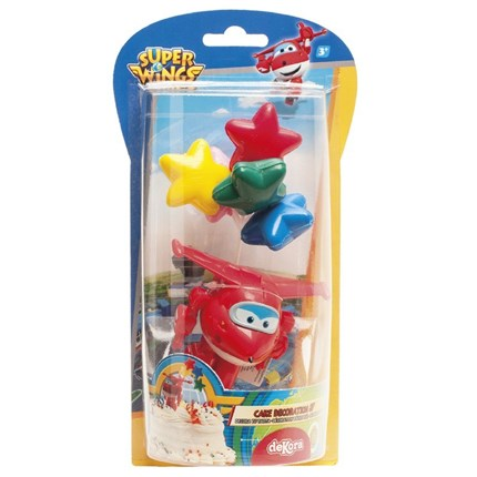 KIT DECORACION JETT - SUPER WINGS DE DEKORA