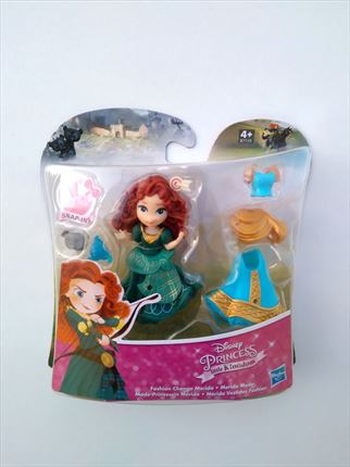BLISTER MÉRIDA VESTIDOS FASHION DISNEY PRINCESS HASBRO