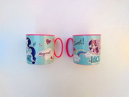 MINI TAZAS VACIAS DE MY LITTLE PONY DE STOR