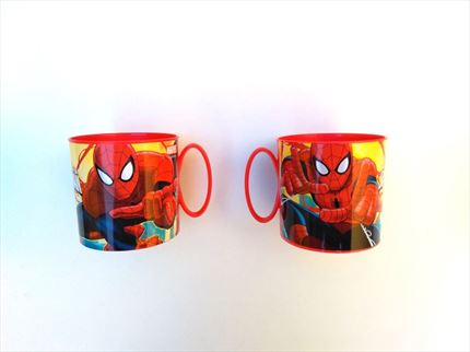 MINI TAZA VACIA DE SPIDERMAN