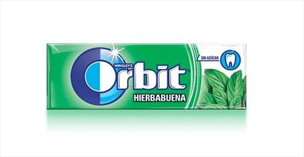 CHICLES ORBIT GRAGEAS HIERBABUENA