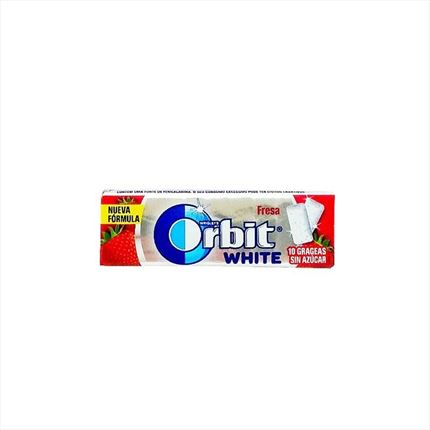 CHICLES ORBIT WHITE FRESA
