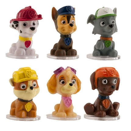 MINI FIGURILLAS DE PAW PATROL