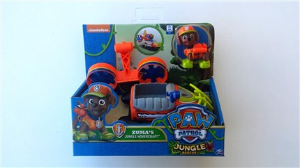 PATRULLA CANINA JUNGLE - VEHICULO Y FIGURA ZUMA