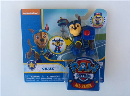 PATRULLA CANINA PACK DE ACCION ALL STARS - CHASE