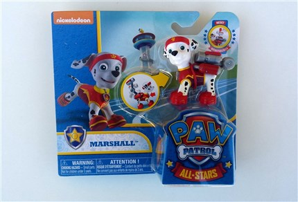 PATRULLA CANINA PACK DE ACCION ALL STARS - MARSHALL