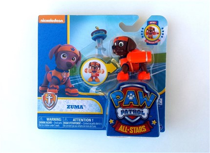 PATRULLA CANINA PACK DE ACCION ALL STARS - ZUMA