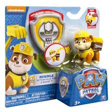Patrulla Canina - Pack de Accion - Rubble