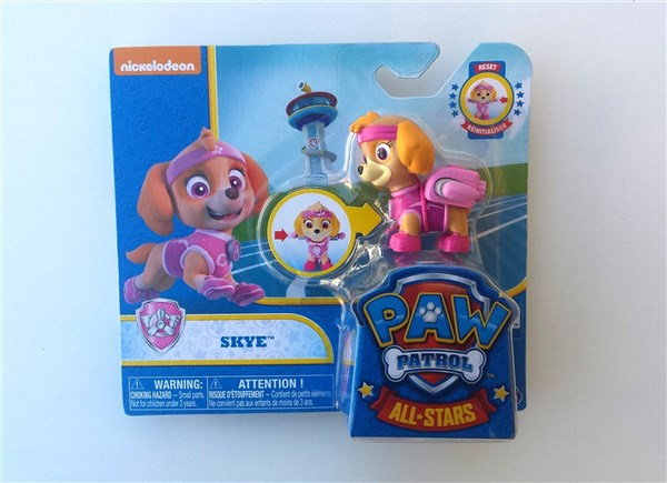 PATRULLA CANINA PACK DE ACCION ALL STARS - SKYE