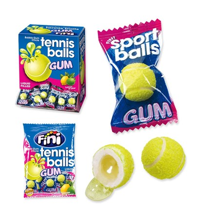 CHICLES TENNIS BALLS GUM