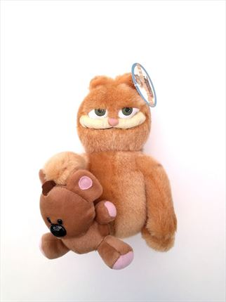 PELUCHES DE GARFIELD CON OSITO DE PLAY BY PLAY