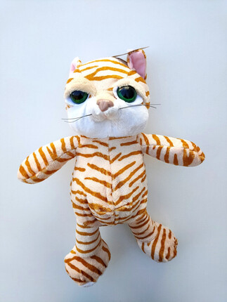 GATO DE PELUCHE COLOR NARANJA DE PLAY BY PLAY