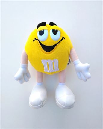 PELUCHE M&M AMARILLO