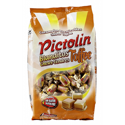 CARAMELOS PICTOLIN TOFFEE INTERVAN