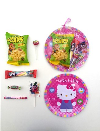 PLATO HELLO KITTY CON CHUCHES
