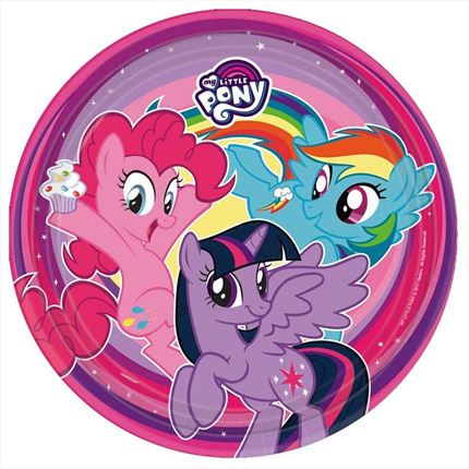 PLATOS MY LITTLE PONY