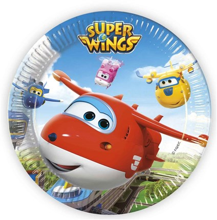 PACK DE PLATOS SUPER WINGS