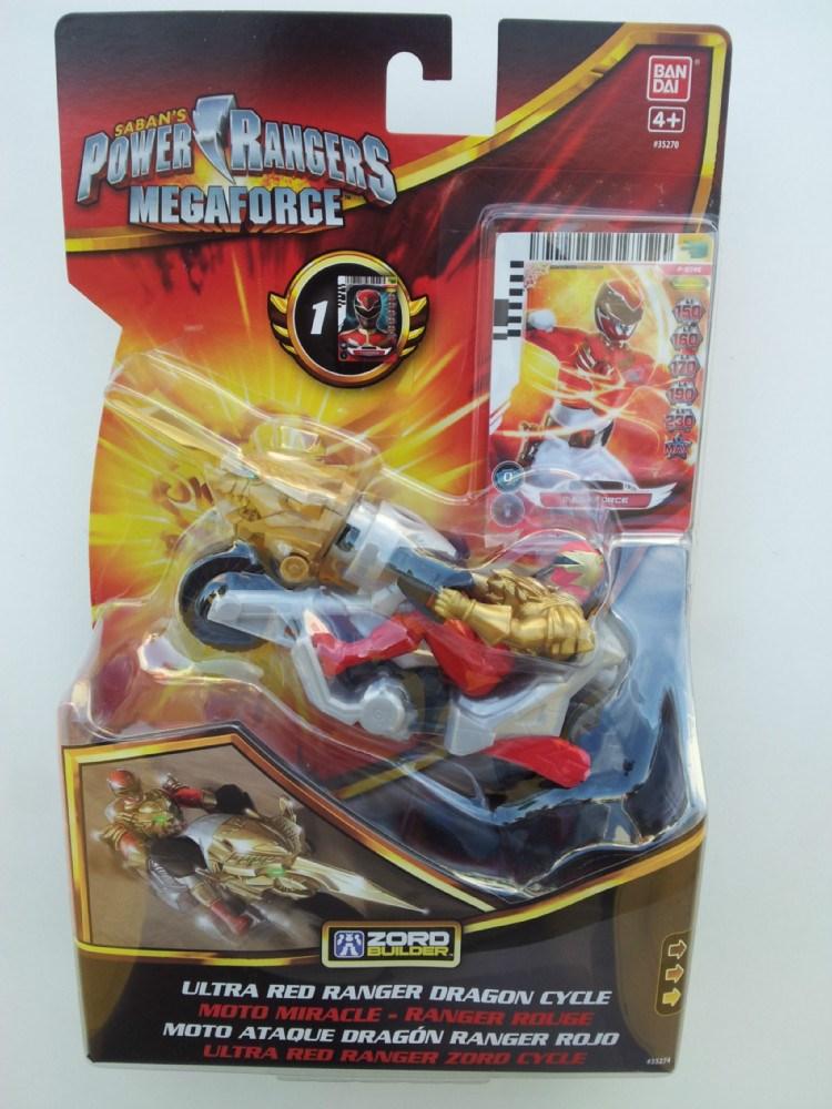 Power ranger megaforce moto ataque dragon ranger rojo - Moto power rangers megaforce ...