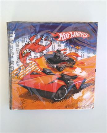 SERVILLETAS HOT WHEELS