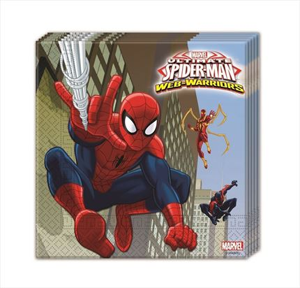 SERVILLETAS DESECHABLES SPIDERMAN