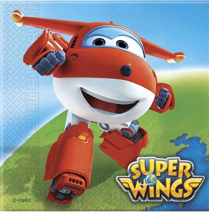 SERVILLETAS SUPER WINGS