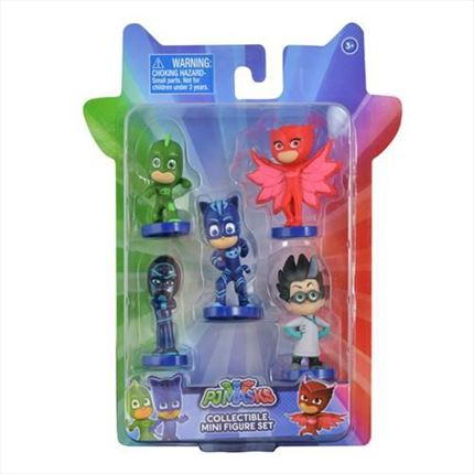 BLISTER MINI FIGURAS PJ MASKS