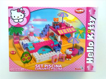 SET PISCINA DE HELLO KITTY